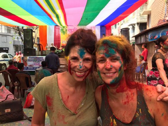 Missieleiders India Kolkata 2017: Ilse en Véronique